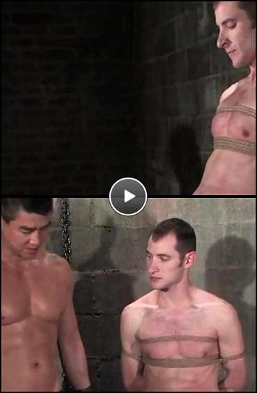 free gay bondage video